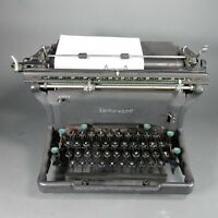 Vintage 1947 Underwood Wide Carriage Typewriter w/ NEW Ribbon S# 12-6226950