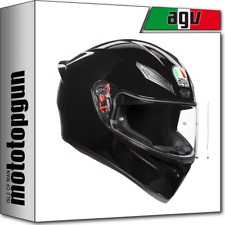 AGV CASQUE MOTO INTEGRAL K1 K-1 SOLID NOIR MS