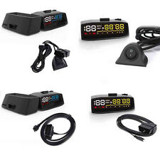 "3.7"" 4F Projector Car OBD2 II EUOBD HUD Head Up Display Overspeed Alarm System"