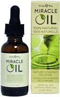 MIRACLE OIL Use On Tattoos & piercings Scar Irritations Earthly Body FATTY ACIDS