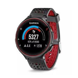 Garmin Forerunner 235 Heart Rate Monitor GPS Sports Running Smart Watch - Red