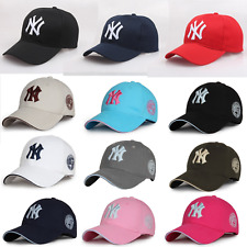 NEW Unisex NY Embroidery Yankees Baseball Cap Mens Women Sports Snapback Sun Hat
