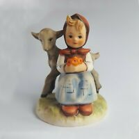 Genuine Vintage Hummel Goebel Figurine Good Friends Girl/Deer 1970s TMK-5 #182