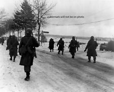 "Battle of the Bulge 101st Airborne troops  8""x 10"" WWII Photo WW2 Picture #174"