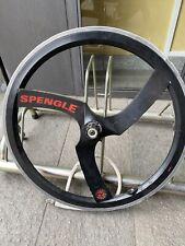 "Spengle' Mtb Rear Wheel 26"" W Damage On Rims Vintage"