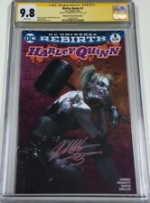 DC Harley Quinn Rebirth #1 Bulletproof Pink Variant Signed Dell'Otto CGC 9.8 SS