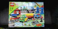 New LEGO Duplo Motorized Deluxe Train Set (5609) VHTF Retired, Sounds, Crane