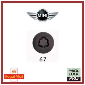 New Mini Cooper Clubman Countryman Locking Wheel Nut Bolt Key 67 - UK Seller