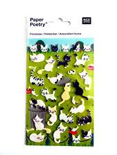 Chat & Chaton décorative Felt-Autocollants Pour Enfants & fabrication carte RCC7000