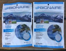 2 packs Bionaire Aroma Scented Tablets OCEAN BREEZE For Aroma Fan