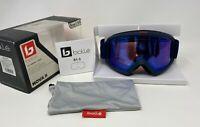 Bolle 21847 Nova II Ski Snow Goggle, PHOTOCHROMIC Blue Lens, Medium to Large Fit