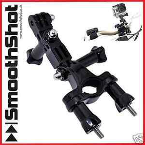BIKE SEAT POST MOUNT BICYCLE HANDLEBAR 3 WAY PIVOT MOUNT FOR GOPRO 9 8 7 6 HERO
