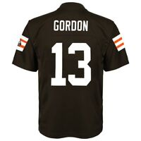 Josh Gordon NFL Cleveland Browns Mid Tier Replica Home Brown Jersey Boys (4-7)
