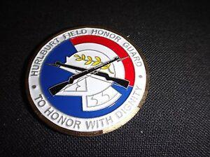 US Air Force HURLBURT FIELD HONOR GUARD 2-Side Challenge Coin