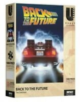 Back To The Future The Delorian Movie Poster 1000 Piece Puzzle