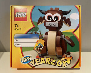 LEGO New Year Of The Ox (40417) *BRAND NEW & SEALED!*