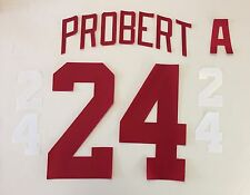Detroit Red Wings Jersey Lettering Kit Any Name/Number
