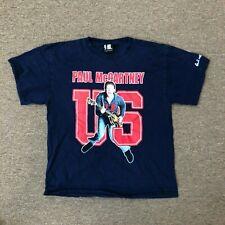 Paul McCartney 2005 Us Concert Tour T-shirt Size Large