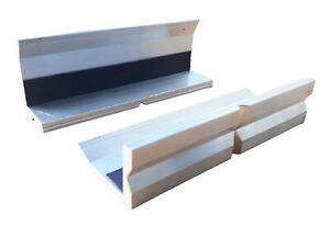 Schonbacken Aluminium Schutzbacken Spann f. Schraubstock Magnet 100 125 150mm