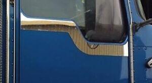 Polished Stainless Steel Kenworth Door Trim (Plain)