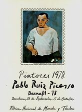 DOCUMENTO FILATELICO F.N.M.T. Nº6 BARNAFIL 78 PABLO RUIZ PICASSO