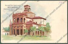 PAVIA GARLASCO 19 SANTUARIO  NADONNA della BOZZOLA Cartolina 1900