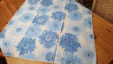 Tischdecke mit großen Blumendruck☆ Baumwolle/ 60* Wäsche