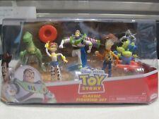 Disney Pixar Toy Story Classic Figurine Set Of 5 Woody Buzz Jessie Rex & Aliens