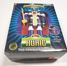 1995 Bandai Power Rangers Zeo Auric the Conquerer Zord Complete with Box