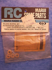 VINTAGE MARUI 010 RARE OILLESS BEARING SET HUNTER GALAXY WHEELIE BIG BEAR 10-350
