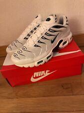 Nike Air Max Plus White/Dusty Cactus 852630-106 Authentic Used Men. 97 1 98