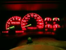 14 Bright Red LED Kit For 1992-1999 Chevrolet Trucks Gauge Cluster & AC Controls