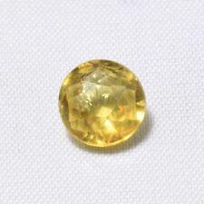 Echter Gelber Runder Citrin 1.93ct 8.0mm