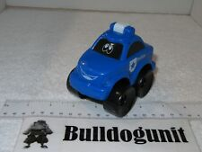 Blue Police Plastic Car Toy Vehicle