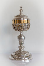 Exquisit baroque sterling silver Ciborium cope vestment monstrance chalice
