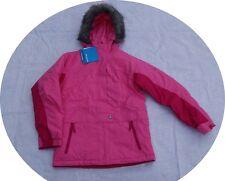 New Columbia Girl Liberty Winter Ski Coat Jacket Pink 10 12