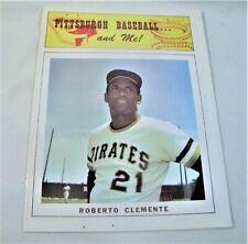 Roberto Clemente: Pittsburgh Pirates Baseball and Me Tribute Magazine