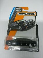 2015 MATCHBOX 1/64 SCALE BLACK CADILLAC ONE PRESIDENTIAL LIMO MBX ADVENTURE CITY