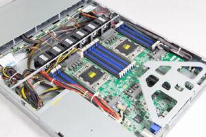 TYAN 16 CORE 2.7-3.3Ghz XEON E5-4650/64GB B7066G24V4H LGA2011 1U SERVER