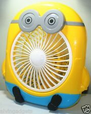 Minion AC Operated 2 Speed Electric Low Noise Cooling Desktop Fan