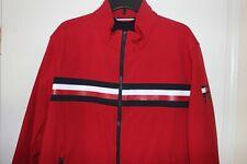 Tommy Hilfiger Mens Red Jacket Water Resistant...