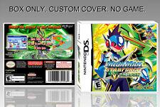 NINTENDO DS : MEGAMAN...DRAGON. ENGLISH. COVER CUSTOM + ORIGINAL BOX. (NO GAME).