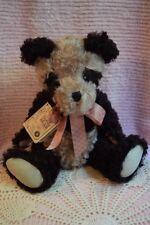 "Boyds Bears Panda Plush Jointed 14"" Mohair Teddy Bear Bamboo Bearington #590030"