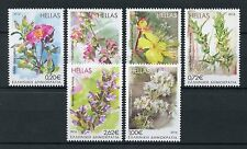 Greece 2016 MNH Blooming Herbs in Bloom 6v Set Flowers Plants Stamps