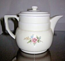 Vintage Halls Rambling Rose Superior Quality Kitchenware Drip-o-lator Coffee Pot