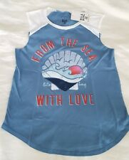 New! Billabong Youth Girls From The Sea Tank Top T-Shirt, Size L (14/16)