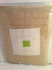Neiman Marcus Ann Gish Ready-to-Bed Boudoir Latte 100% SILK Quilted $75.00