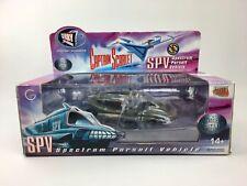 Rare MODÈLE Moulé sous pression SPV Spectrum Pursuit Vehicle CAPITAN SCARLET