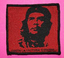 Che Guevara Aufnäher / patch Punk Antifa Oi Hasta La Victoria Siempre Revolution