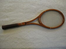 Vintage Add In Grand Prix Wooden Tennis Racquet Racket (6 Ply Lamination)